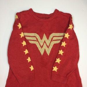 GAP Shirts & Tops - 💖SALE  3/$12 Wonder Woman Knit Sweater - Toddler